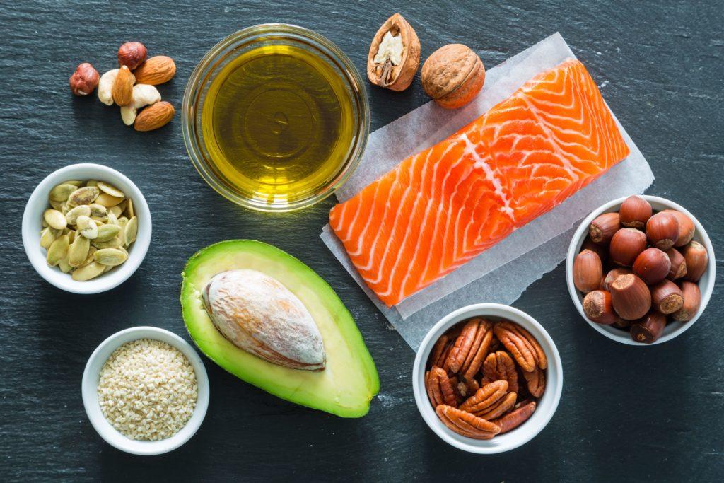 fette richtige Ernährung Fitness Training