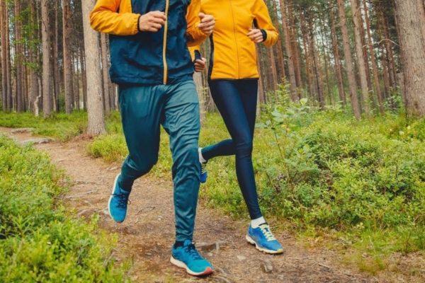 laufen-wald-wie-viel-gesund